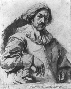 Portret van Cornelis Saftleven (1607-1681)