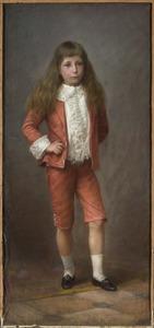 Portret van Frederik Georg Unico Willem van Aldenburg Bentinck (1888-1942)