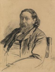 Portret van Jacob Maris