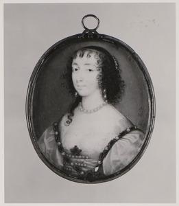 Portret van Henrietta Maria de Bourbon (1609-1669)