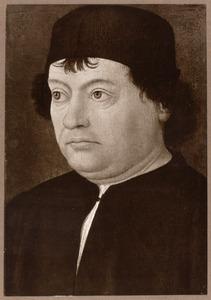 Portret van een man met een zwarte muts