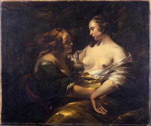 Jupiter, in de gedaante van Diana, en Callisto