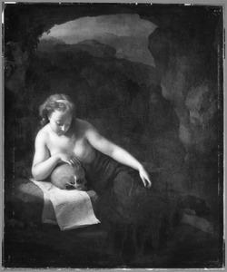 De boetvaardige Maria Magdalena in contemplatie