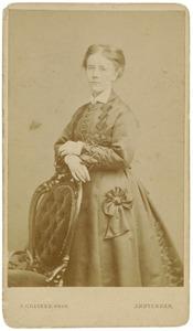 Portret van Catharina Christina Johanna Hermina de Vries (1847-1929)