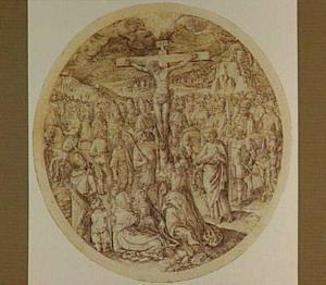 De kruisiging (Mattheüs 33:35)
