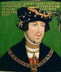 Portret van Lodewijk II, koning van Hongarije (1506-1526)