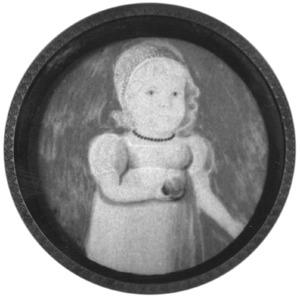 Portret van een meisje, waarschijnlijk Anna Gesina Jacoba van Fridagh (1822-1865)