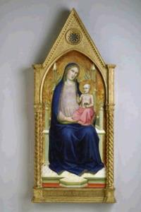 Tronende Maria met kind