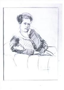 Portret van A.C.G. Glerum-Rincker