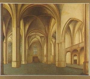 Interieur van de Cunerakerk in Rhenen