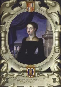 Portret van Maria D'Aragona (?-1568)