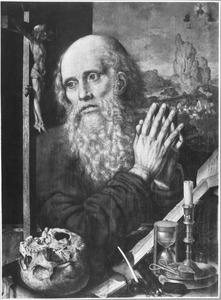 De H. Hieronymus biddend