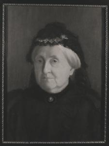 Portret van Johanna Cornelia van Gelder (1826- )