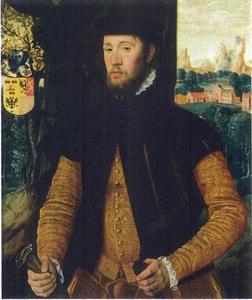Portret van Rienk van Cammingha (..-1584)