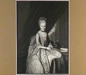 Portret van Machelina Cornelia Wilhelmina Benjamina Hannes (1757-1787)