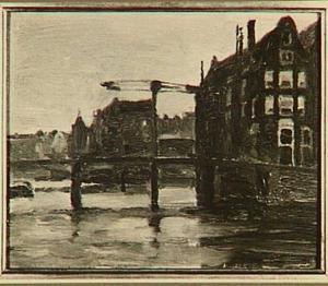 Brug bij 's Gravenhekje, Amsterdam