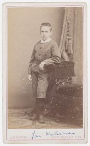 Portret van Jan Westerman (1871-1934)