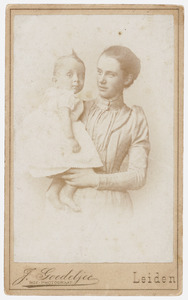 Portret van Cornelia Gerardina Kips (1865-1939) en August Mattheus Ludwig Rümke (1891-1980)