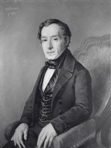 Portret van Carel Hanau (1792- )