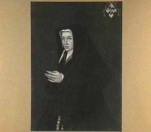 Portret van Beatrix van Slingelandt (1485-1555), echtgenote van Cornelis de Witt