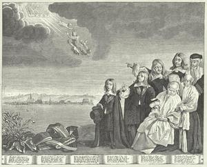 Otte Thott (1607-1656) ten hemel opgenomen