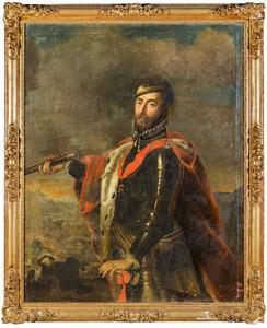 Portret van Emanuel Philibert van Savoye (1528-1580)