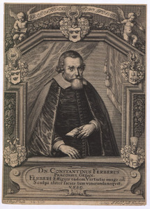 Portret van Constantin Ferber (1580-1654), burgemeester van Gdansk