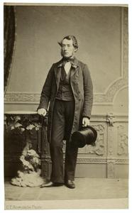 Portret van Tiemen Hooiberg (1809-1897)