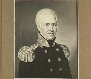 Portret van Harco Hilarius Hora Siccama (1770-1827)