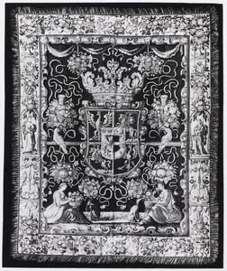 Tapijt met Pools heraldisch wapen