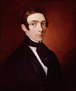 Portret van Willem Marinus Hendrik de Jonge (1824-1898)