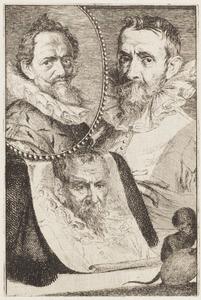 Portretten van drie kunstenaars