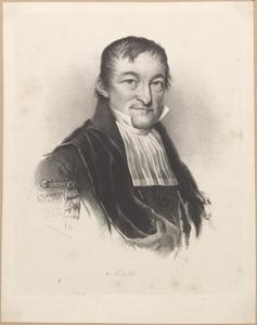Portret van Gerard Moll (1785-1838)
