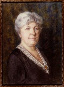 Portret van Maria Rosalia Martha Steijns (1873-1956)