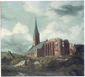 De kerk van Zandvoort