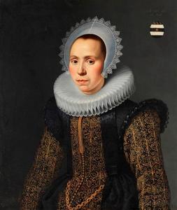Portret van Alida (Aeltje) van der Graeff (1592-1673)