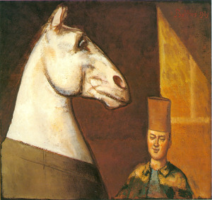 De Spahi en zijn paard