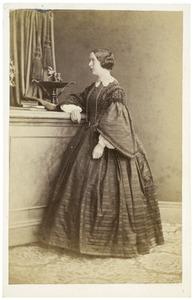 Portret van Cornelia Johanna Sara van Limburg Stirum (1827-1914)