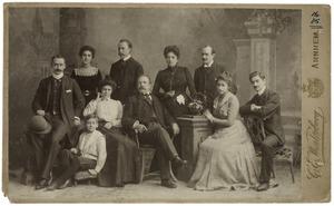 Portret van familie Cochius