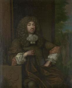 Portret van Jan Boudaen Courten (1635-1716)