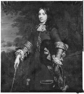 Portret van een man, waarschijnlijk Cornelis van der Goes (1649-1724)
