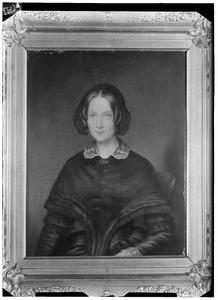Portret van Francoise Isabelle Henriette de Ranitz (1802-1859)