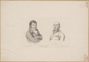 Portretten van Adriaan van der Willigen (1766-1841) en Roeland van Eynden (1747-1819)