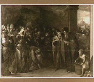 Christus en de overspelige vrouw (Johannes 8: 2-11)