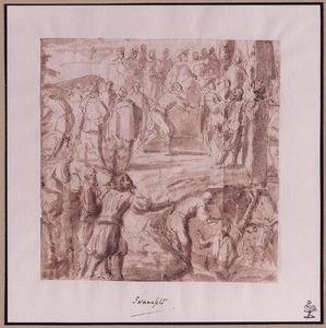 Na het overlijden van Christus op Golgotha gaan de graven open en worden doden opgewekt (Mattheus 27: 51-53)