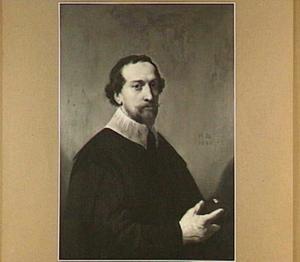 Portret van Maerten Jorisz. van (den) Velden (1603-1639), Pastoor van Stompwijk, Zoetermeer en Leiden