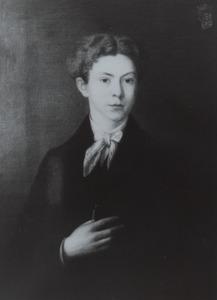 Portret van een persoon genaamd Josephus E.H.W. d' Olne (1848-1891)