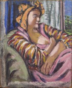 Amrey ( kunstenaarsnaam van Annemarie Balsiger, vrouw van de kunstenaar)