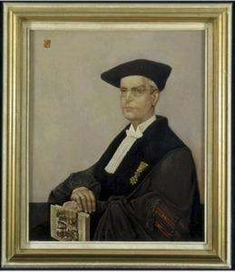 Portret van K. Ph. Bernet Kempers