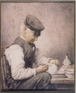 Portret van Adolphus Cornelis Tulk (1803-1893)